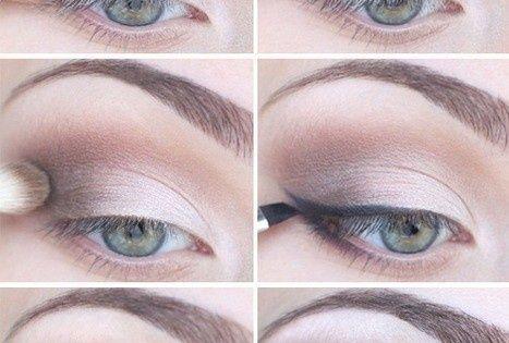 Weddbook ♥ Naturel, Smokey Eye Makeup. Eye makeup for green eyes. Smokey