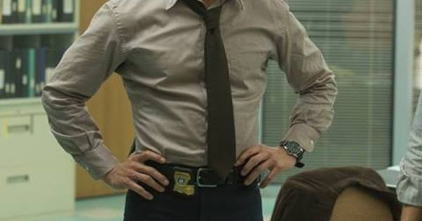 True Detective, Matthew McConaughey. I've never seen him look this good. Awesome