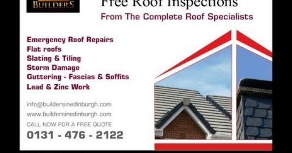 Roofers In Edinburgh Storm Damage Insurance Repairs Flat Roof Repair Emergency Roof Repair Roof Repair Roofer