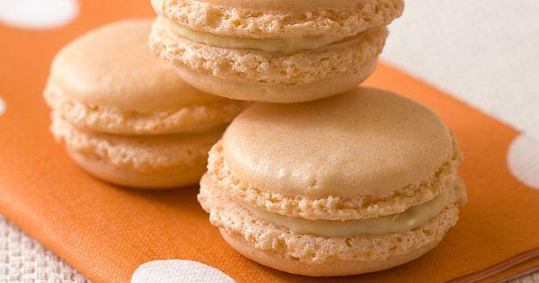 Macarons abricots chocolat blanc - Recettes de cuisine | Cuisine