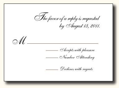 5 Types Of Wedding Rsvp Card Wording Paperblog Rsvp Wedding Cards Wedding Rsvp Wedding Cards
