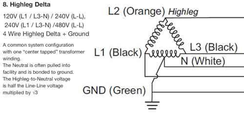 High Leg Delta Electrical Engineering Books Power Engineering Home Electrical Wiring