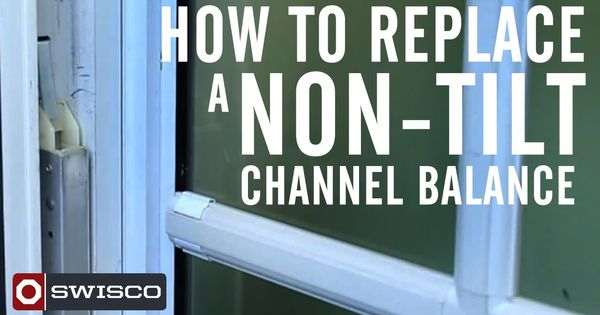 Window Sashes Falling Here Is How To Replace A Non Tilt Window Channel Balance Diy Repair Window Repair Sash Window Repair Swisco