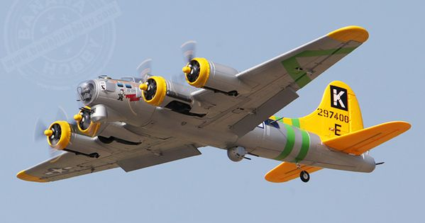 6 CH Freewing Fuddy Duddy Oversize B-17 Bomber RC Warbird