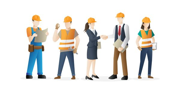 Top 10 Blue Collar Jobs Vector Character Design Character Design Designs To Draw