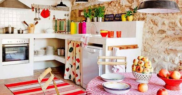 D coration maison de campagne cuisine avec coin repas for Decoration maison francaise