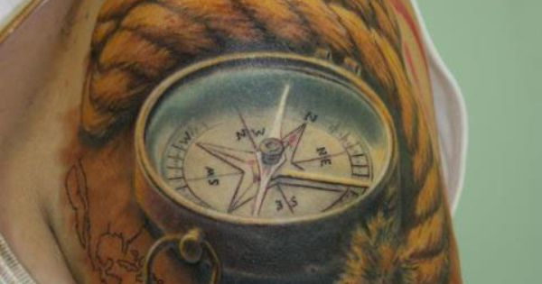 Cool 3D Tattoo Designs | ... tattoo, word tattoos, compass rose designs,