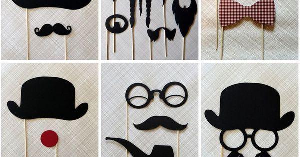 Manualidades foamy fiestas adultos bigote gafas pajaritas - Manualidades para adultos ...