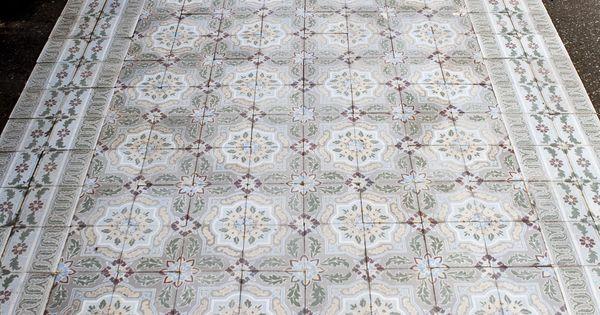 Groot assortiment oude motieftegels bij jan van ijken oude bouwmaterialen in eemnes www - Tegels van cement saint maclou ...