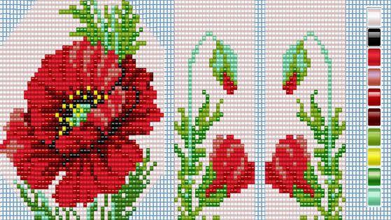 Пояс из бисера схема плетения фото 260