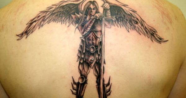 guardian angel forearm tattoos for men guardian angel warrior cool tattoos continues. Black Bedroom Furniture Sets. Home Design Ideas