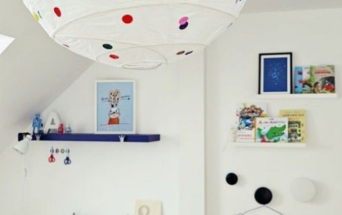 diy lampe so entsteht aus einer ikea lampe ein cooles design objekt kinderzimmer einrichten. Black Bedroom Furniture Sets. Home Design Ideas