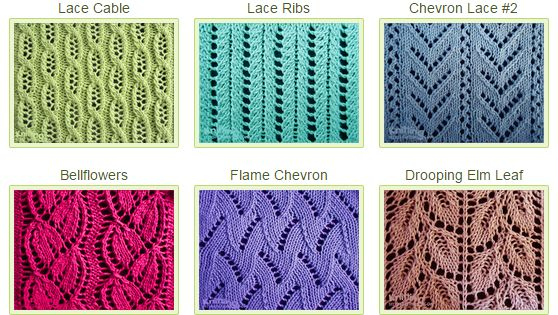 Over 50 Eyelet & Lace Stitches. Whether you are a beginning lace knitter ...