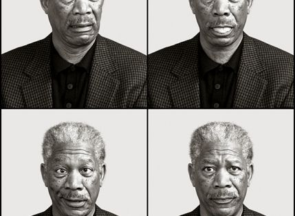 Morgan Freeman by Andy Gotts. I like this guy. Probably because he