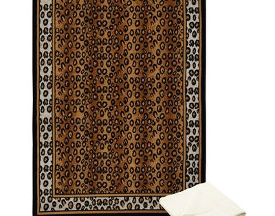 Bloomsbury Market Barlow Animal Print Brown Area Rug Area Rugs