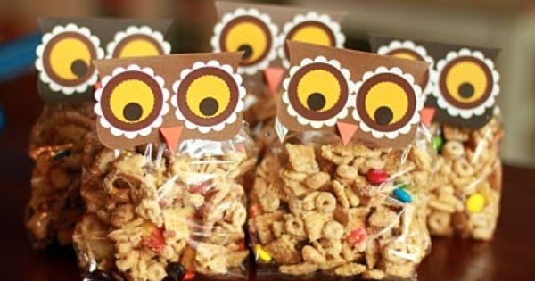 Classroom treats for fall!
