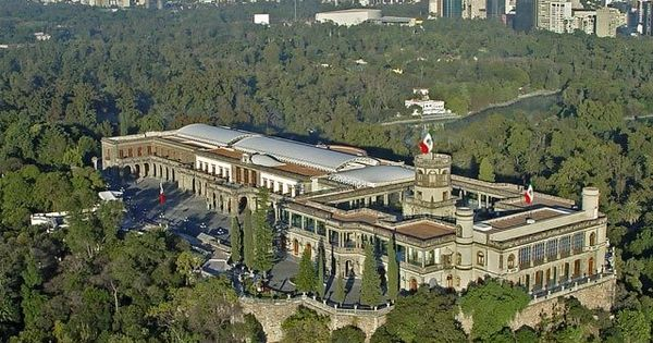 Chapultepec Castle Mexico City Pinterest Castles Central America And Beautiful Places