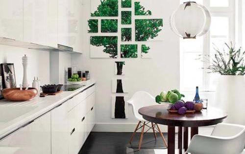 Witte Keuken Donkere Vloer : Moderne witte keuken met donkere vloer ...