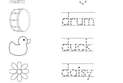 trace the words that begin with the letter d coloring page twisty noodle letter coloring. Black Bedroom Furniture Sets. Home Design Ideas