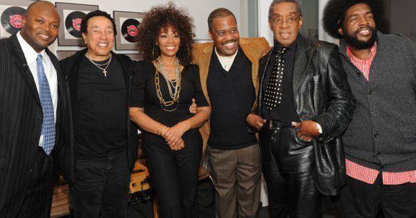 Left to right: Smokey Robinson, Jody Watley, Cuba Gooding ...