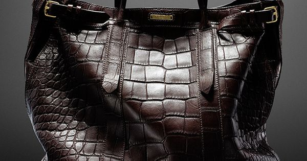"The Coach Billy Reid Warrior Tote in alligator. I""M IN LOVE! i"