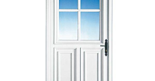 Porte d 39 entr e sully pvc haute isolation thermique for Porte isolation phonique lapeyre
