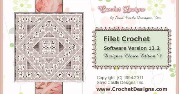 Crochet Pattern Maker Mac : Crochet Designs, Filet Crochet Software (how to easily ...