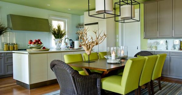HGTV Dream Home 2013: Dining Room & Kitchen Picture
