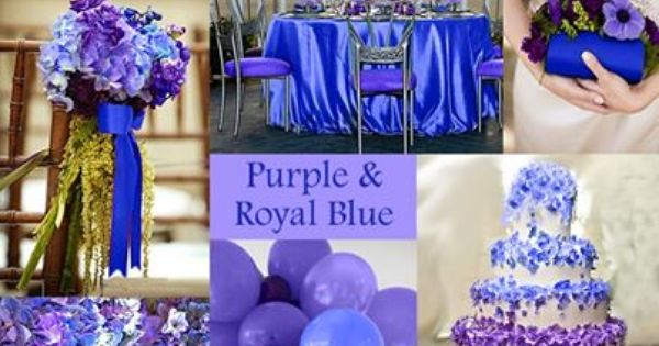 Royal Blue And Purple Wedding Cake Royal Blue Purple Inspired