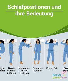 Bedeutung schlafstellungen Was verraten