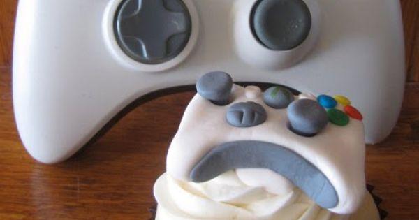 Xbox controller cupcake