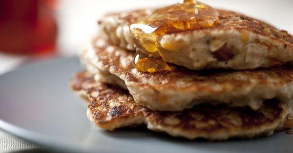 healthy oatmeal pancakes   Pancakes!   Pinterest   Oatmeal Pancakes ...