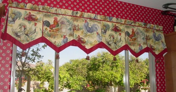 ... | French Country, Kitchen Curtains and Country Kitchen Curtains