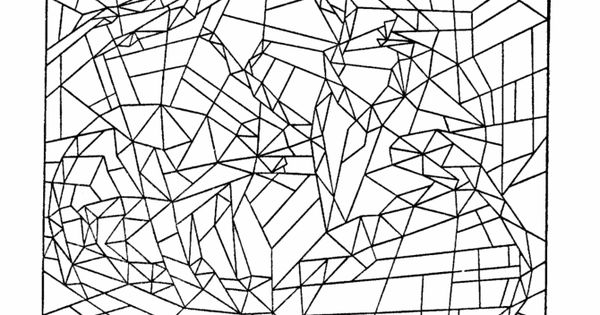 Hidden Picture Coloring Page Fill in the colors to find