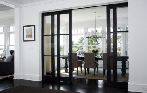 Sliding Glass Doors into dining room instead of french doors