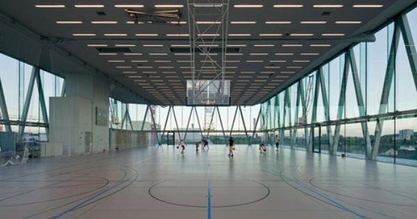 Christian kerez leutschenbach school building zurich 2009 the structure of this building is - Oerlikon swimming pool ...
