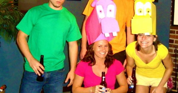 Hungry Hungry Hippos Costumes - Halloween Costume Contest