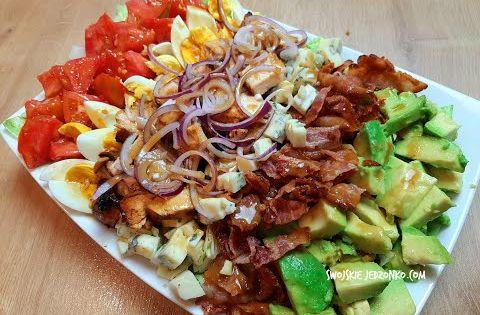 Amerykanska Salatka Cobb Hit Kazdej Imprezy Salatka Naimpreze Youtube Culinary Recipes Salad Food