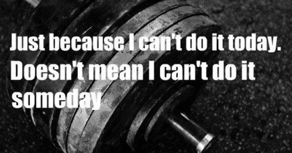 Crossfit Inspiration: My new motto! I may not be the strongest or