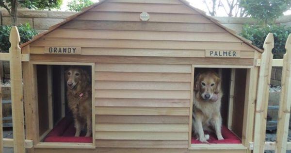 Goliath Dog House Custom Cedar Dog House For 200 Lb Dogs Large Dog House Outdoor Dog House Big Dog House