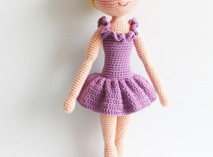 Knitting Pattern Ballerina Doll : Amigurumi Ballerina Doll-Free Pattern Ballerina doll and ...