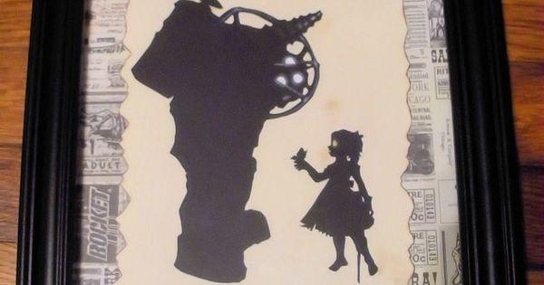 Big Daddy - Bioshock Silhouette by Sidhe-Etain.deviantart ...
