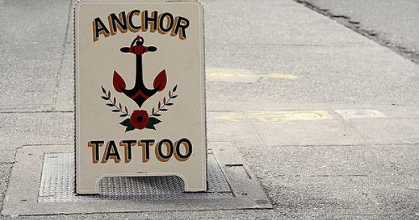 Anchor tattoo seattle washington shop inspo pinterest for Anchor tattoo seattle
