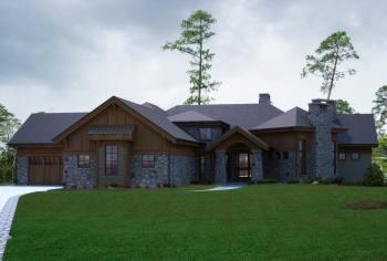 House Plan 5631 00039 Luxury Plan 4 749 Square Feet 4 Bedrooms 5 5 Bathrooms Rustic House Plans Craftsman House Craftsman House Plan