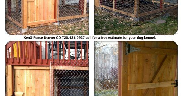 Dog Kennel Under Deck By Keng Fence Denver Co Call 720 431