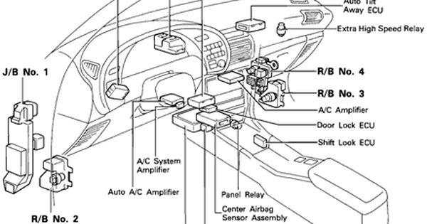 1992 toyota celica fuse box diagram . Toyota celica 1993