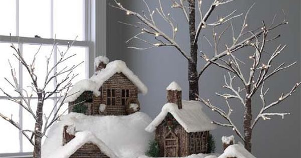 Twig Cabins and Houses ~ This would be fun to make! Go