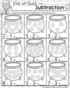 March Kindergarten Worksheets Planning Playtime March Kindergarten March Kindergarten Worksheets Kindergarten Math Worksheets