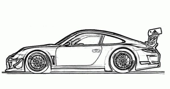 Cool Cars Coloring Pages Free