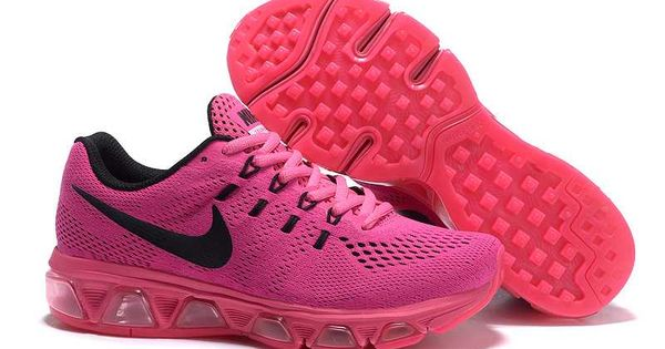 1767 : Nike Air Max Tailwind 8 Dam Laser Svart Rosa Orange
